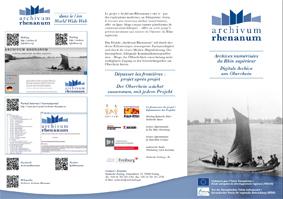 Neuer Flyer Archivum Rhenanum 2015